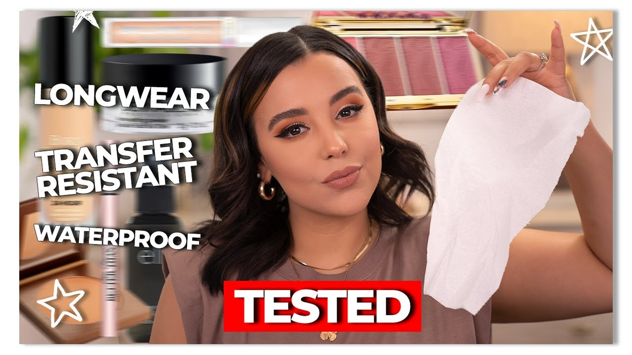 I Tested Full Coverage Transfer-Resistant Makeup Products While Wearing A Mask!
