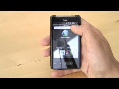 HTC HD mini Test Bedienung