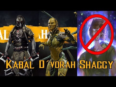 Votacion Shaggy en Mortal Kombat  en vivo
