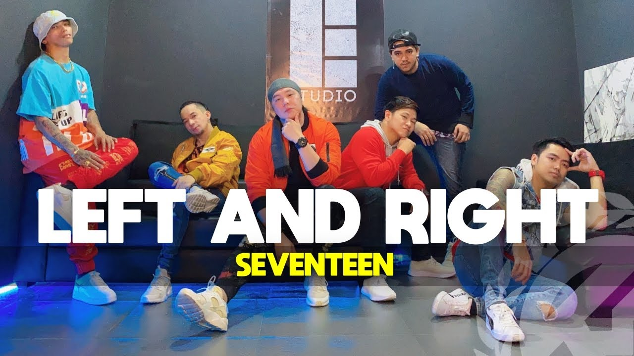 LEFT AND RIGHT by Seventeen | Zumba | KPop | TML Crew Fritz Tibay