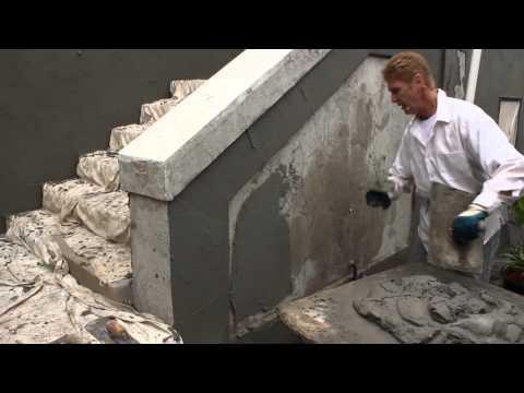 Trowel Stucco To Look Like Poured Concrete Doovi
