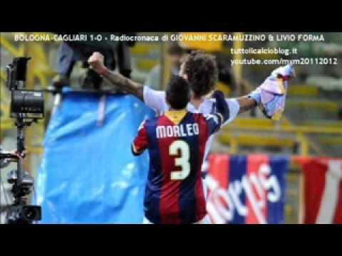 BOLOGNA-CAGLIARI 1-0 – Radiocronaca di Giovanni Scaramuzzino & Livio Forma (12/4/2012)