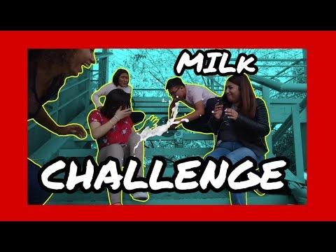 MILK CHALLENGE (invitadas especiales) | Efra Alcaraz :)