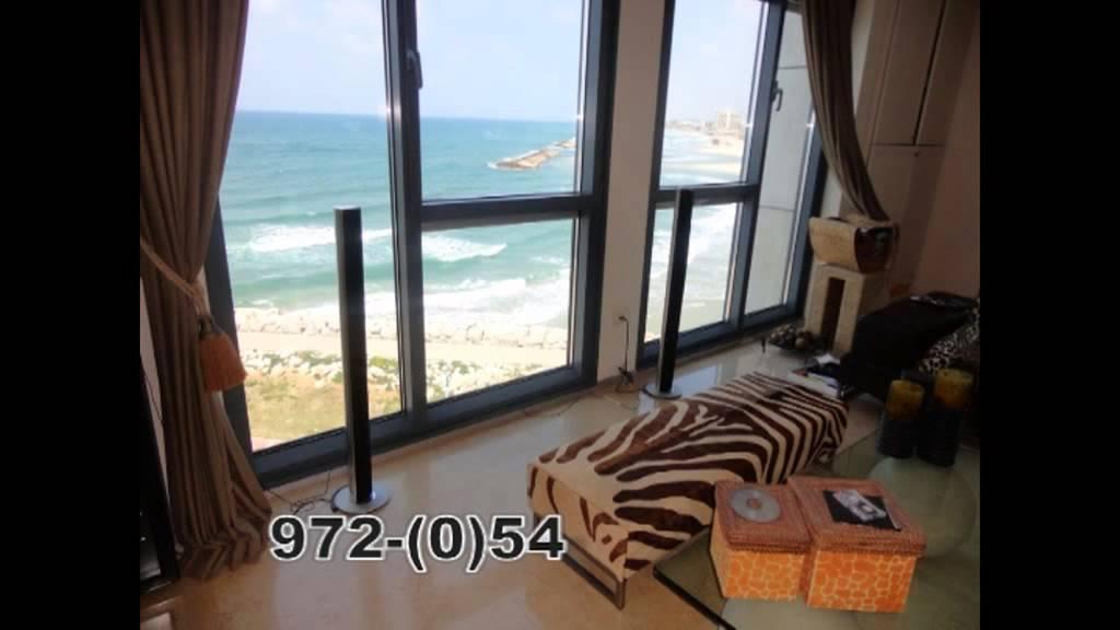 מפואר דירות קו ראשון לים להשכרה ולמכירה | מבחר דירות עם נוף לים JM-65