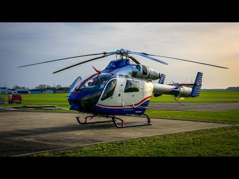 [Landung + Start] Air Rescue 3 LAR Luftrettung Luxembourg