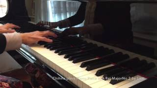 Chihiro plays Piano Piece in A flat Major No.2 by Liszt