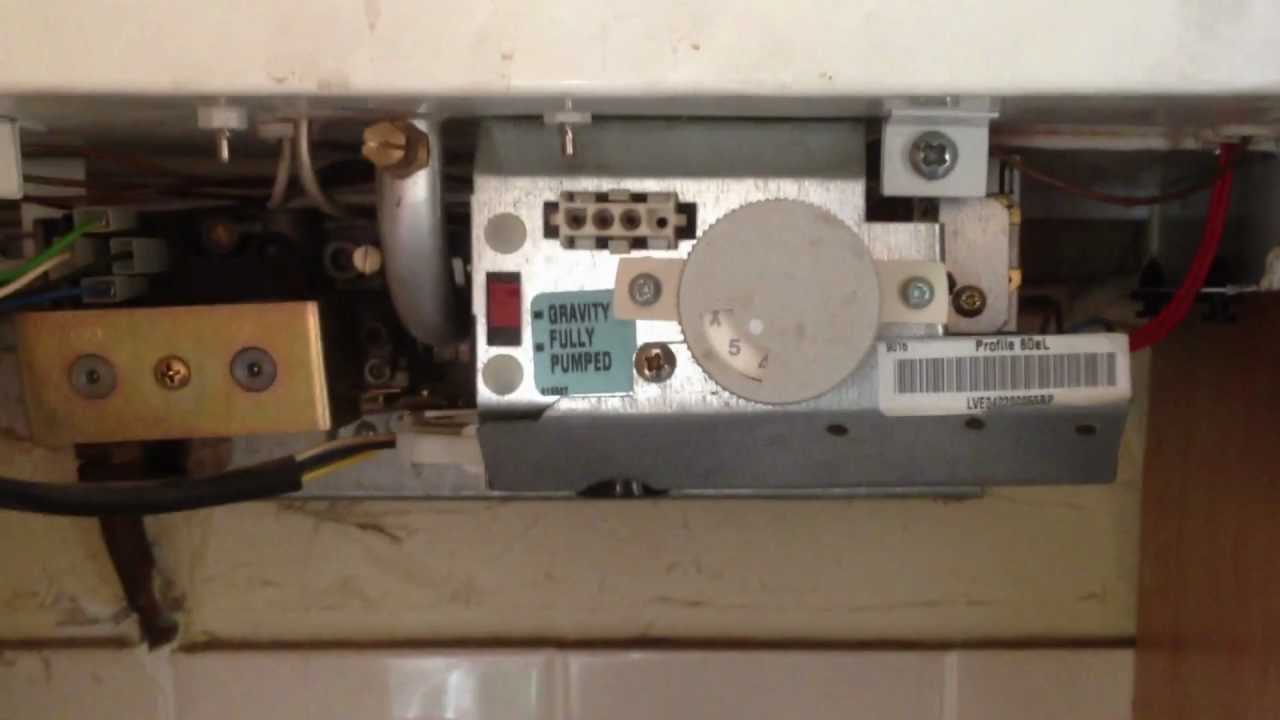 Manual Reset Wiring Diagram Potterton Profile 80e Not Sparking Youtube