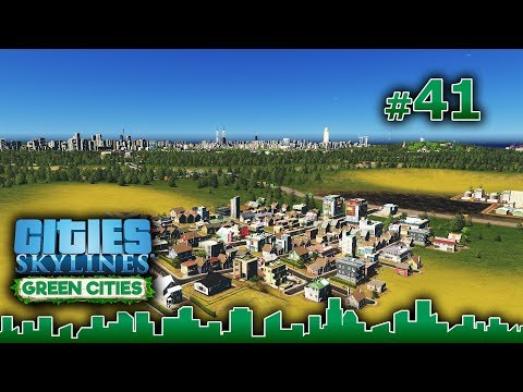 Cities Skylines GREEN CITIES – Grandes Obras #41 - NUEVOS BARRIOS - Gameplay Español