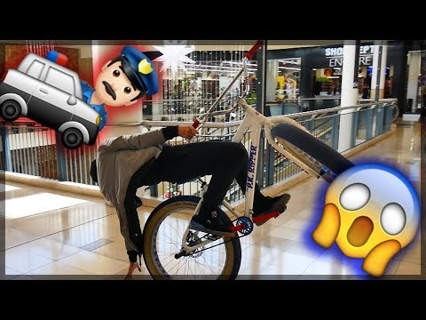 WHEELING INSIDE OF A MALL!
