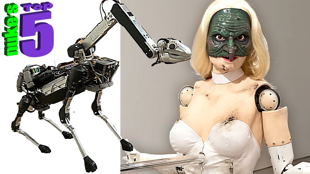 5 Creepy Robots That Are Pure Nightmare Fuel