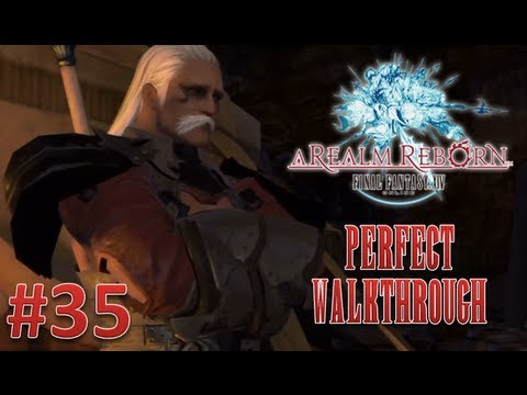 Final Fantasy XIV A Realm Reborn Perfect Walkthrough Part 35 - On to Little Ala Mhigo