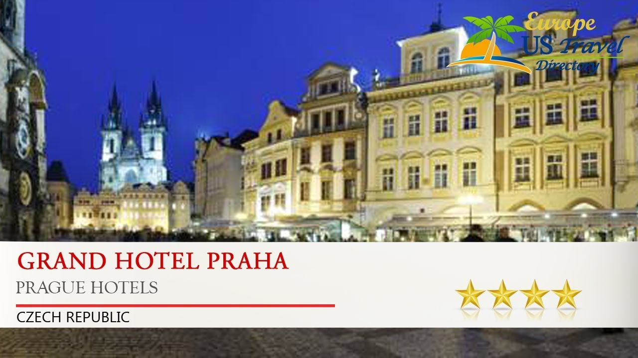 Grand Hotel Praha Prague Hotels Czech Republic