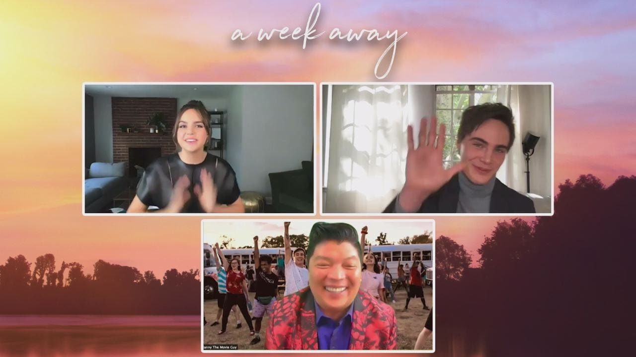 """Netflix's newest: """"A WEEK AWAY"""" - Manny The Movie Guy chats with the stars"""