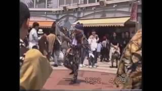 ナムコ・ワンダーエッグ 大道芸パフォーマンス