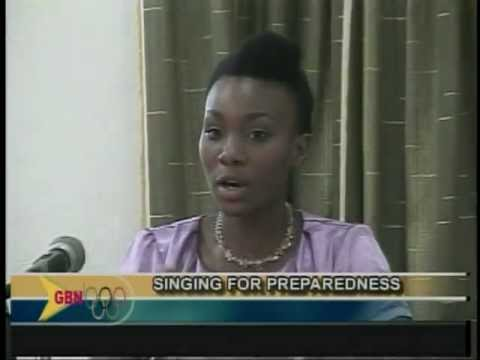 GBN News Spice It Up - Sing for preparedness Press Conference Launch