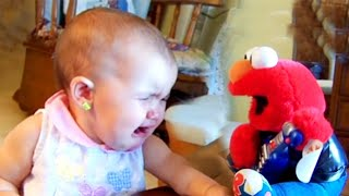 Baby Reaction Funny Babies Scared of Toys Compilation #woavideo
