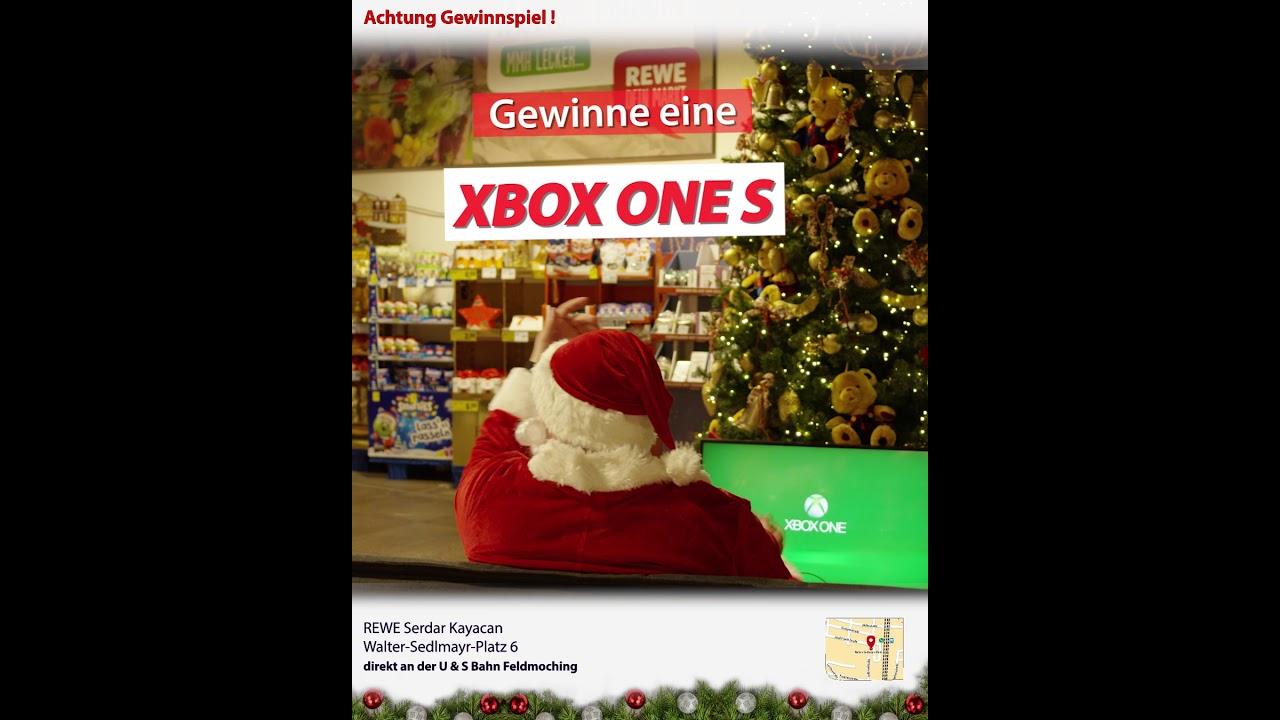 Weihnachtsgewinnspiel REWE Kayacan OHG   Gewinne eine XBOX ONE S   Spot 6/7