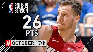 Goran Dragic Full Highlights Heat vs Magic 2018.10.17 - 26 Points!