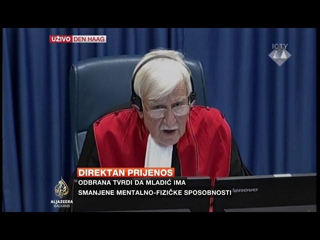 Izricanje presude Ratku Mladiću