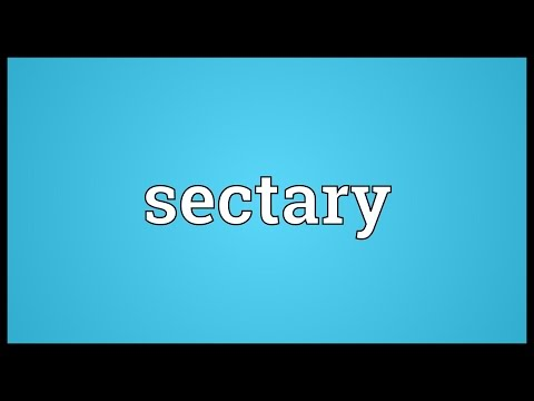 Header of sectary