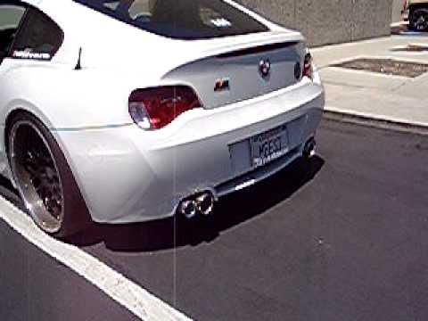 Z4 M Coupe with RPi GT Exhaust  YouTube