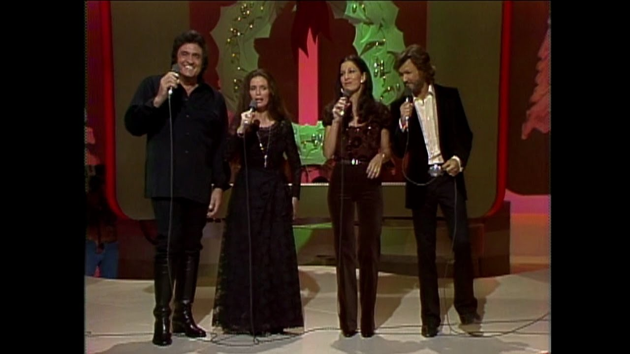 Johnny Cash, June Carter Cash, Kris Kristofferson and Rita Coolidge ...