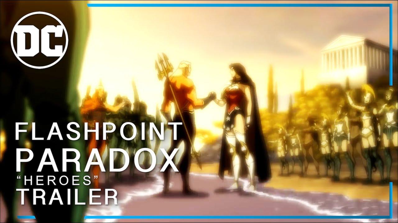 "Download Flashpoint Paradox ""Heroes"" Trailer #RestoretheSnyderVerse"