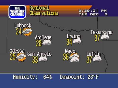 WS4000v3 Emulator - Irving Texas - Dec 6 2011 - Cold Day!