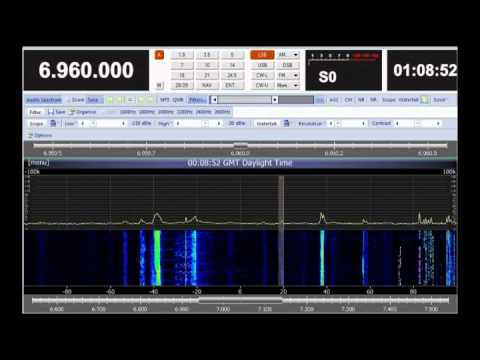 Radio Cat Live 6960 Khz - Pirate Radio from Switzerland - 22 October 2011 - 23.08 UTC