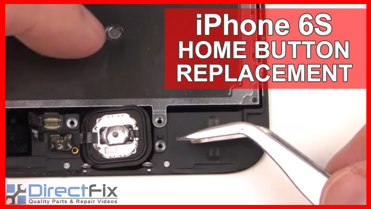 the latest d667e bdc30 iPhone 6S Home Button Replacement done in 2 Minutes