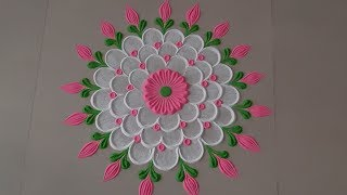 Welcome Rangoli design for Guests  by Aarti shirsat || Top Rangolis