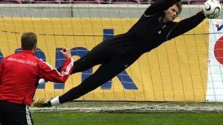 Andreas Köpke   Jens Lehmann   Timo Hildebrand   Torwart Training (DFB)