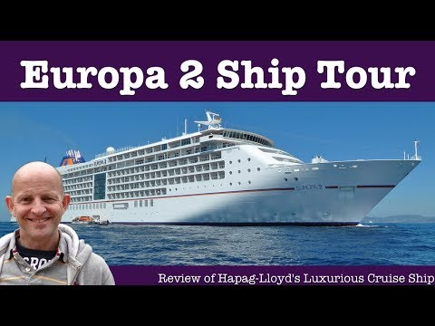 Hapag Lloyd Cruises Europa 2 Cruise Ship Tour. World's Most Luxurious Ship?