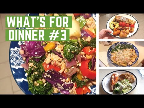 what's-for-dinner-#3- -easy-&-healthy-weeknight-meals