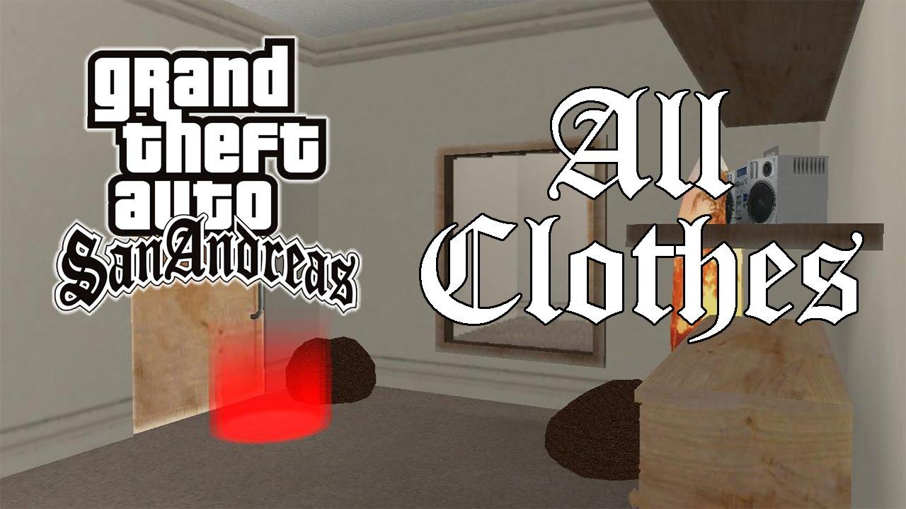 GTA San Andreas - All Clothes
