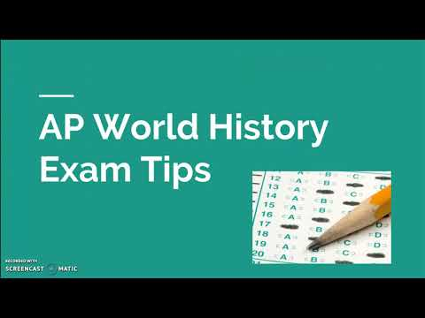 How to get a 5 on the AP World History Exam in 2020
