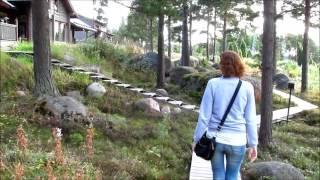 VLOG: Котка и окрестности Langinkoski, Santalahti и грибы... (Kotka, Finland)