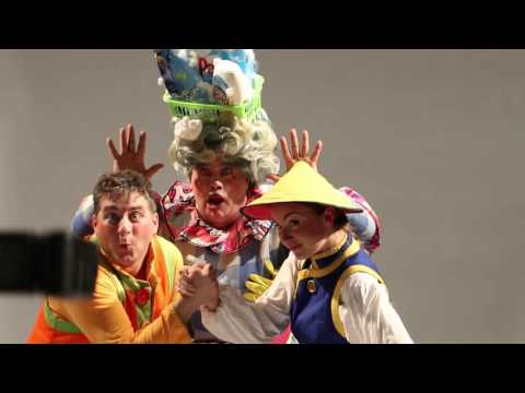 2015 – Aladdin – Southport – Meet the Cast – David Lonsdale plays Widow Twankey