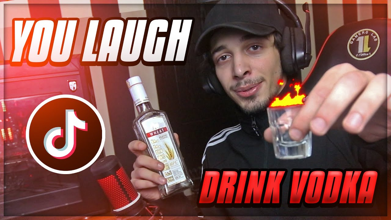 YOU LAUGH = DRINK VODKA CHALLANGE | TikTok Part 11