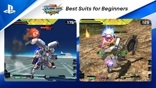 Mobile Suit Gundam Extreme vs. Maxiboost On - Best Suits for Beginners | PS CC