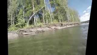 подводная охота на хариуса река сеймчанка на колыме(свободное время на колыме., 2015-02-28T19:09:44.000Z)