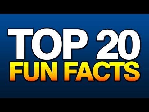 Top 20 Fun Facts
