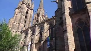 Spaziergang in Marburg durch die schöne Stadt Teil 1