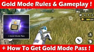 Rules of Survival Gold Mode Gameplay & Rules + How To Get Gold Mode Pass!