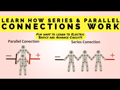 Series circuit and Parallel circuits | Parallel and series circuit board URDU|HINDI