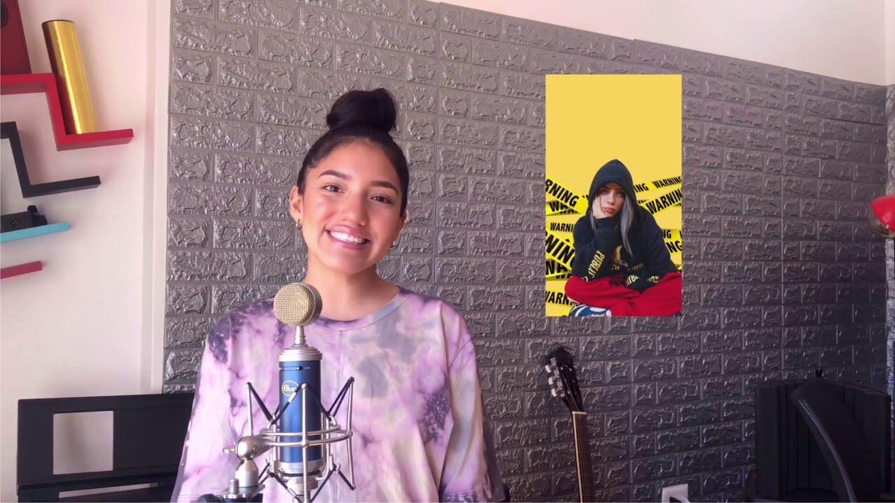 "Renata Flores ""Bellyache"" Billie Eilish Versión Quechua #BlogdeRenata #AprendoEnCasa"