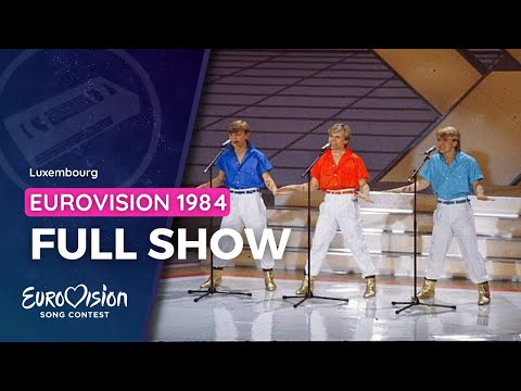 Full show • Eurovision Song Contest - Luxembourg 1984