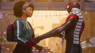 Miles Has a Crush on Hailey - Spider-Man: Miles Morales 2020