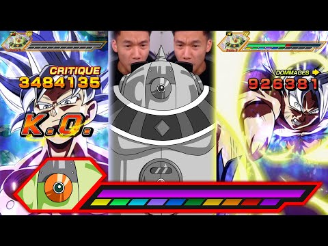 Migatte LR + team parfaite. Boss 3 Moscow  GOD MOD Hakaishin ! Dokkan Battle