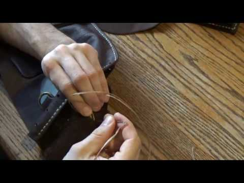 Leather Tutorial | How To Sew Hidden Seam Pockets